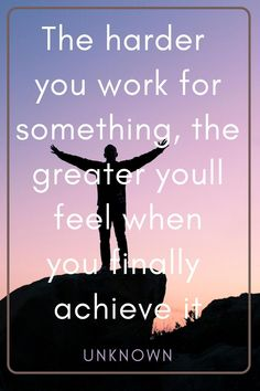 """The harder you work for something, the greater youll feel when you finally achieve it"""" - unknown  #motivation #businessmindset #entrepreneurmindset #successtips #entrepreneurquotes #inspirational #motivationalquotes #successful #lifequotes #success #inspire #business #happiness #positive Yoga Quotes, Life Quotes, Wonder Quotes, Entrepreneur Quotes, You Working, I Hope You, Dreaming Of You, Happiness, Bonheur"""