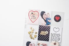 Hi there! I have another project for you today using my FREE Valentine's Day printables and clip art images!I am a BIG fan of using pocket pages in my traditional albums. I just mix them right in amongst the regular 12x12 pages. I also mix in 8.5x11 pages here and there too! It fits right in…