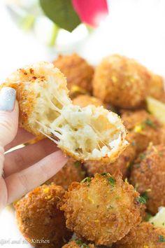 Risotto Recipes, Rice Recipes, Risotto Dishes, Cheesy Recipes, Party Recipes, Dinner Recipes, Italian Rice Balls Recipe, Fried Rice Balls Recipe, Risotto