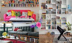 Ideias criativas para decorar a casa com livros! #secretsdecor — Niina Secrets
