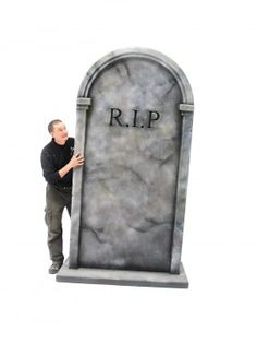 Giant 3D RIP Tombstone # 2