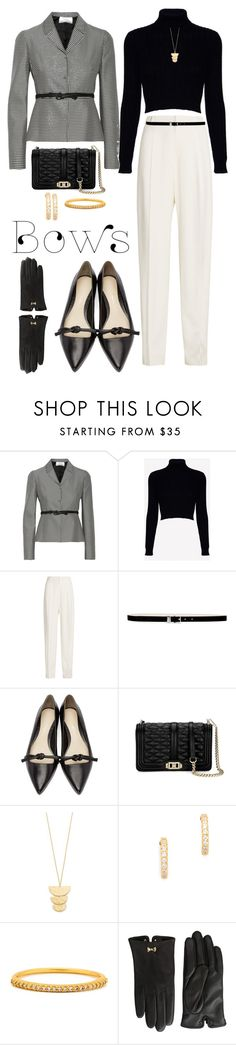 """""""Bows"""" by susan0219 ❤ liked on Polyvore featuring Valentino, Jack Wills, Joseph, Nine West, 3.1 Phillip Lim, Clover, Gorjana and Ted Baker"""