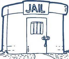 empty jail cell clip art jail cell stock vectors vector clip art rh pinterest com jail clipart gif jail clipart gif