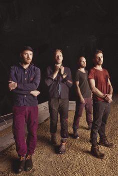 another MX shot complete w/ Chris pulling on his collar, Jonny arms crossed, Will looking off, & Guy seducing the camera
