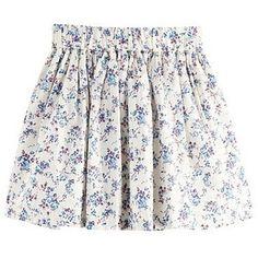 Lea Sweetheart Floral Skirt (Women) | VANCL