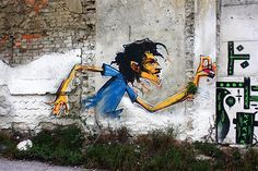 Street art by Whip