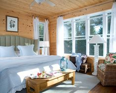 Cottage Design - wood walls - natural colour