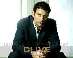 Clive Owen (because it's Clive Owen)