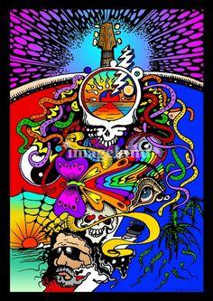 be grateful of the l Dead Grateful Dead Shows, Grateful Dead Image, Grateful Dead Poster, Grateful Dead Bears, Hippie Peace, Hippie Art, Hippie Chic, Woodstock, Grateful Dead Wallpaper