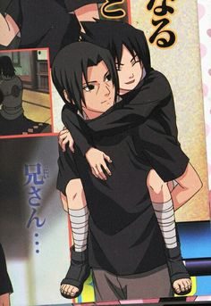 Uchiha Itachi and Sasuke ❤️😍