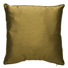 Wilko Paris Faux Silk Cushion Green