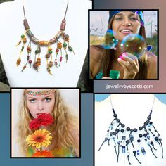 Bohemian fringe benefits from Jewelry by Scotti. Shop now at https://www.etsy.com/shop/JewelryByScotti