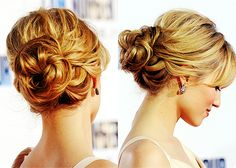 Updo for wedding