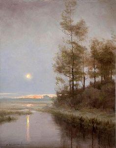 Thomas Kegler, Dawn Break: Proverbs 4:23, 2012, oil on linen, 16 X 12 inches