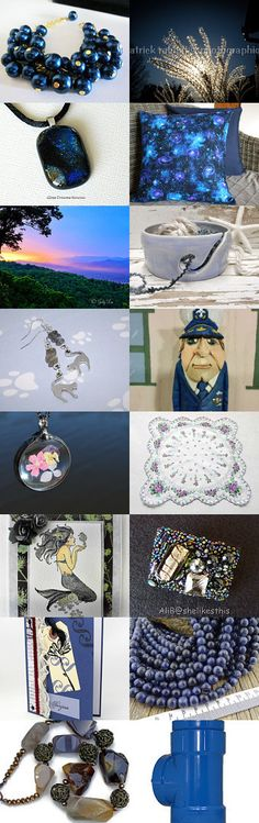 Galaxy by Marianne on Etsy--Pinned+with+TreasuryPin.com