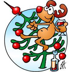 Reindeer in a Christmas tree fc T-Shirt design. #Tshirts #illustration #design #drawing #customprint #POD #CardvibesCatalog #Cardvibes #Tekenaartje #Zazzle #Spreadshirt #Redbubble #Society6