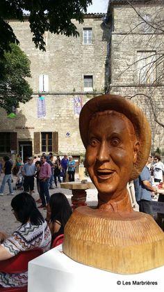 2015 - Les Marbrières de Caunes-fete du marbre devant l'office de tourisme