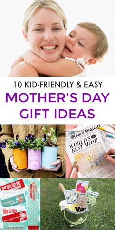 Looking for gift ideas to make Mom feel extra loved on Mother's Day?Here are 10 super easy Mother's Day gift ideas for Mom and Grandma. This is a collection of 10 printables for sweet gestures of appreciation, and fun, tokens of love for Mom. I've got you covered no matter what your Mom will love, they'll melt any Mom's heart when they come from those who love her. #mothersday #mothersdaygifts #mothersdaygiftideas #giftsformom #mothersdayideas via @https://www.pinterest.com/PragmaticParent/