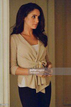 SUITS -- 'Self Defense' Episode 514 -- Pictured: Meghan Markle as...