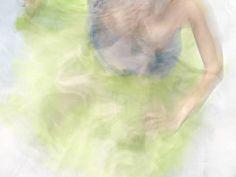 Ethereal Underwater Chromatics Shots by Barbara Cole. #chromatics #photography #underwaterphotography #impressionist #portraits #female