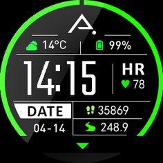 Amazfit stratos watch faces wfz download |  wfz custom watchface