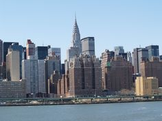 view from the ferry to Brooklyn