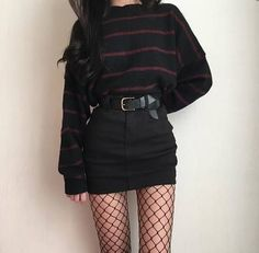 Awesome Pretty Fashion Outfits for Women The Forbidden Truth Regarding Awesome Pretty Fashion Outfits for Women Revealed by an Old Pro Regardless of what's your body … - Trendy Fashion Grunge Punk Outfits Ideas Grunge fashion Grunge Style Outfits, Mode Outfits, Girl Outfits, Casual Outfits, Fashion Outfits, Fashion Ideas, Summer Outfits, Skirt Fashion, Grunge Dress