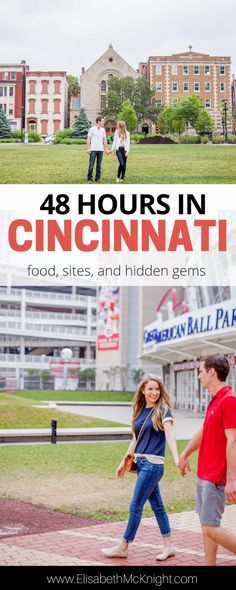 only have a few days in Cincinnati, Ohio and want to know what else to do besides try the chili and see the reds? check out the best food, sites, and hidden gems