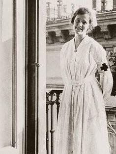 Agnes von Kurowsky in Milan -  geliefde van Hemingway
