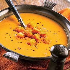 Pumpkin Soup Recipe on Yummly