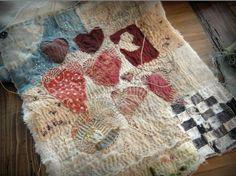 A small wonderful fiber art piece by Jude Hill.