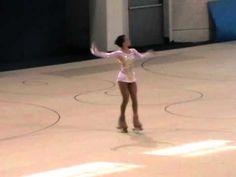 Italian artistic roller skater - short programme 2012