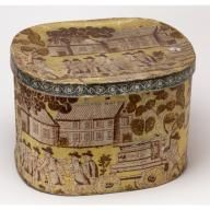 Love love love painted bandboxes. From Cooper Hewitt: Engine Company No. 13 bandbox, Manufacturer H. Barnes, 1831-1844