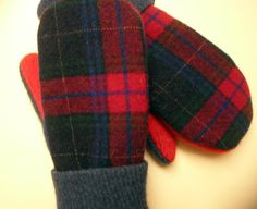 Sweater Mittens, Wool Sweaters, Felted Wool, Wool Felt, Owl Hat, Old Shirts, Upcycled Clothing, Kids Wear, Repurpose