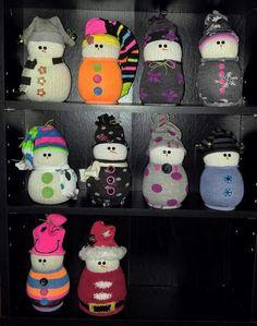 Sox snowmen