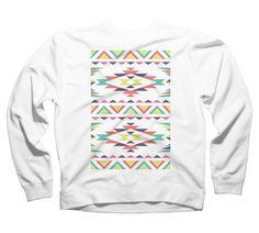 Aztec Nation Men's Graphic Crew Sweatshirt - Design By Humans Crew Sweatshirts, Aztec, Long Sleeve, Sweaters, Design, Fashion, Moda, Long Dress Patterns, Fashion Styles
