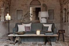 Bathed by the Mediterranean Sea... - A renovation of a 17th-century masseria, a farm...