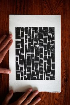 HOW TO MAKE A LINOCUT AT HOME WITHOUT A PRESS — Anna Curtius