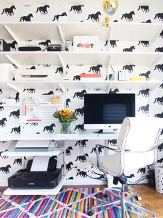 Pin for Later: These Home Trends Will Still Be Hot in 2016 Temporary Wallpaper