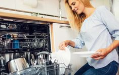 An Australian mother has revealed how she keeps the family budget in check by cutting her dishwashing tablets in half before placing them in the dishwasher. Dishwasher Tablets, Her Cut, Family Budget, Cool Kitchens, Lifestyle, Household Tips, Mail Online, Daily Mail, Hacks