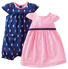Carter`s Baby Girls` 2 Piece Dress an... for only $14.99