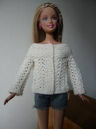 Risultati immagini per vestidos para barbie a crochet en pinterest