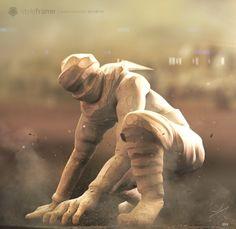 Sandman Design Concept  #CharacterDesign #Creaturedesign #3D