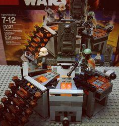 "Back to normal life. Building Legos. Boba Fett: ""From now on Han Solo is mine forever."" . 바운티 헌터 보바펫이 한 솔로를 카보나이크 얼음틀에 얼리는 장면. . #lego #legostagram #legostarwars #starwars #starwarslego #75137 #carbonfreezingchamber #bobafett #hansolo #carbonite #hansoloincarbonite #afol #adultfansoflego #레고 #레고스타그램 #스타워즈 #레고스타워즈 #한솔로 #보바펫 #카보나이트 # backtonormal by briankim1205"