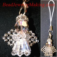 How to Make Angel Jewelry or Ornaments - The Beading Gem's Journal