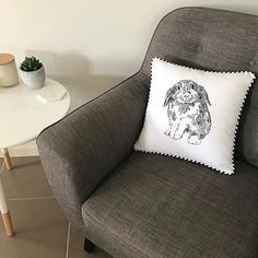 Happy Easter! @missgemkate shares her #SuperAmartStyle featuring our James Fabric Accent Chair