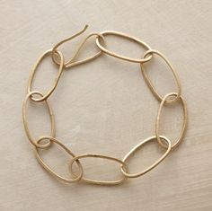 this would go great with my new necklace.oversized ovals bracelet ~  Sundance  $48