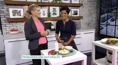 "Dreading Cold and Flu Season? Emerging research suggests bacteria in our gut could play a key role in keeping us healthy. But where do we start when it comes to understanding our gastrointestinal tract? I had a great time on CTV's new morning show ""Your Morning"" to talk about foods that contain probiotics and prebiotics."