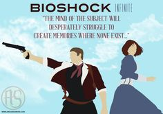 Booker DeWitt And Elizabeth: BioShock Infinite Print