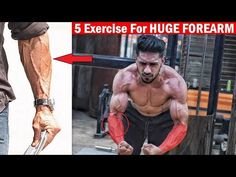 HUGE FOREARM WORKOUT | Top 5 Forearm Exercise at Home/Gym - YouTube